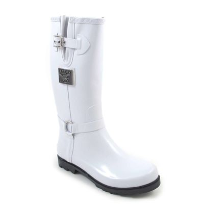 Replay Gummistiefel Anaise Weiss