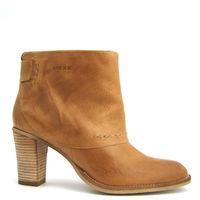 MEXX / Ankle Boots »Pluche« Camel / Stiefeletten Hellbraun