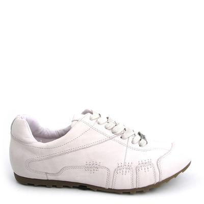 air4men / Schuhe/Schnürschuhe Cremeweiss-Offwhite, 100% Nappaleder