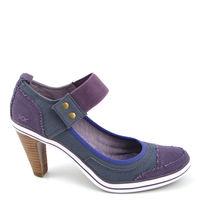XX by MEXX / Sneaker-Pumps »Hiske« Yersey, Purple-Violett Textil