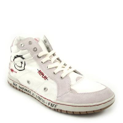 Replay / Basketball-Stiefel Sneaker »Stress M« Weiss-Schwarz
