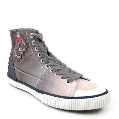 Replay / »Napier W« Grey-White, Hi-Sneaker Grau-Weiss