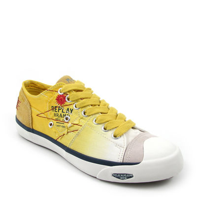 Replay / »Nelson W« Sneaker Gelb-Weiss (Yellow-White)