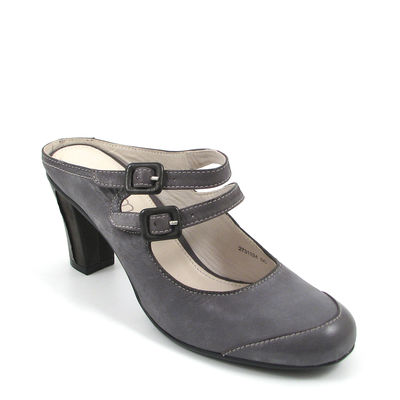 comma / Sabot/Mules Graublau-Jeans - Sandals Denim-Black