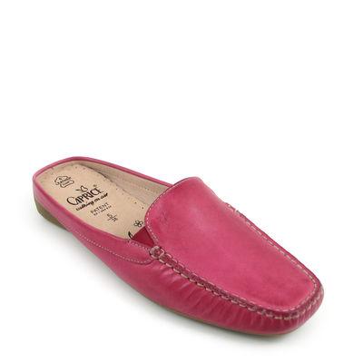 Caprice / Mokassin-Clogs Pink - Pantolette Leder
