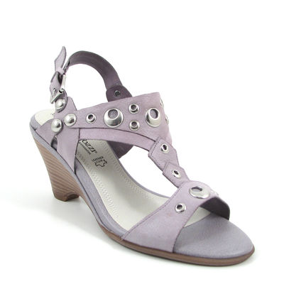 Marco Tozzi / Keilabsatz-Sandalette Lavender/Flieder