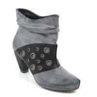 Tamaris / Ankle Boots Graphite Comb - Vintage-Stiefelette Grau