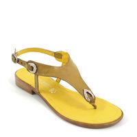 Marco Tozzi / Sandale Saffron-Gelb mit Strass