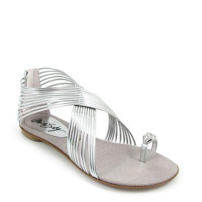 MISS SIXTY / »Nadia« Flat-Sandale Silber