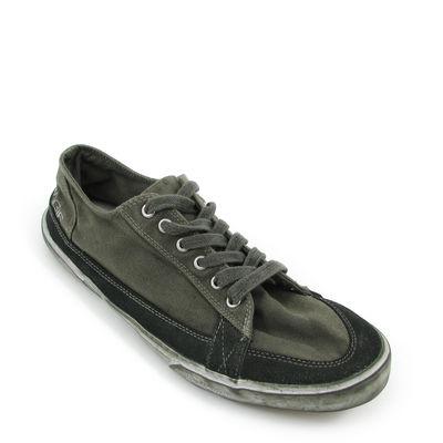 ENERGIE / Sneaker »Powder Low« Oliv-Military - Used-Look