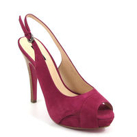 BELMONDO / Plateau-Sandalette Fuchsia/Pink - Stiletto
