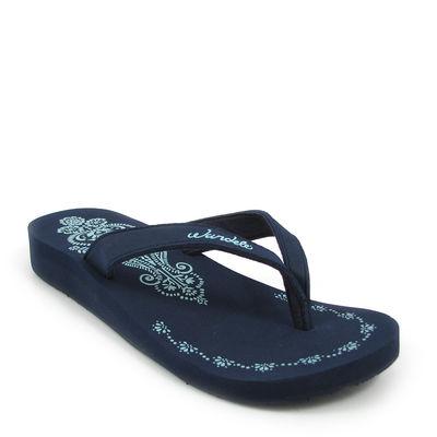 Wandelei / »Taj Mahal« Flip Flops Blau (Blue)