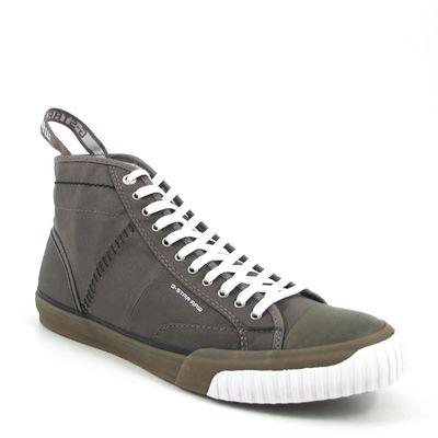 G-STAR / Schuhe/Sneaker »Campus Scott Hi« Lava/Grau