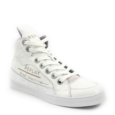 Replay / Streetstyle-Sneaker »Courage M« White/Weiss - Skaterschuhe