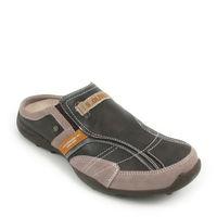 s.Oliver / Herrenschuhe Clog Braun/Orange (Sandals Tobacco Comb)