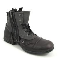 REPLAY / »CLUTCH« Boots - Schwarz/Grau (BLACK)