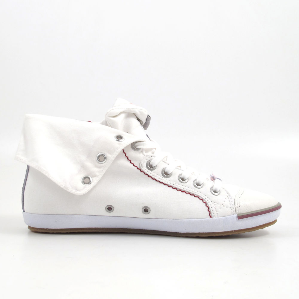 Replay / Sneaker Weiss - BROOKE MID WHITE - Damen-Turnschuh