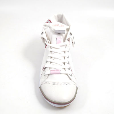 Replay / Sneaker Weiss - BROOKE MID WHITE - Damen-Turnschuh