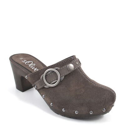 s.Oliver / Clogs Grau (Grey Antic)