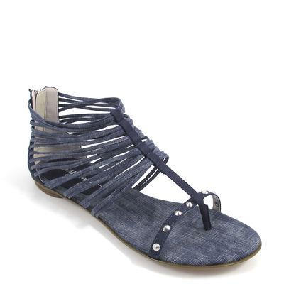 MISS SIXTY / Sandale DOMITILLE - Riemchen-Sandalette Blau/Jeans