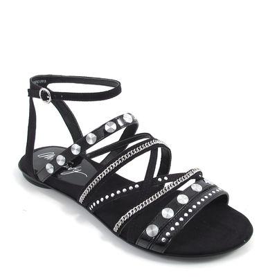 MISS SIXTY / DIBE SHOES - Nieten-Sandalen Schwarz - Sandaletten