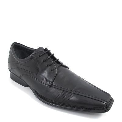s.Oliver / Elegante Herrenschuhe Schwarz - Business-Schuhe Black