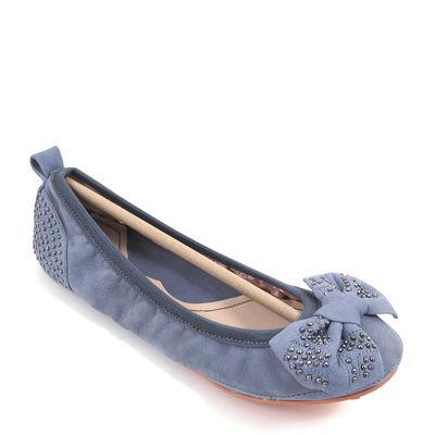 MISS SIXTY / IVY Ballerinas Blau m. Schleife