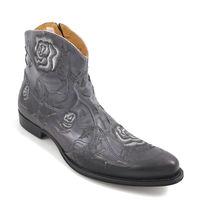 We Are / Boots HERONA PIOMBO - Stiefelette Grau