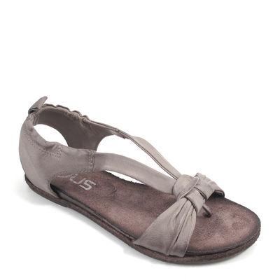 MJUS / Sandale Grau - COTTON STONE - Sandalette flach
