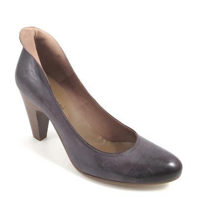 billie jean / Pumps Grau-Dunkelgrau (Mogano) - Damenpumps Leder