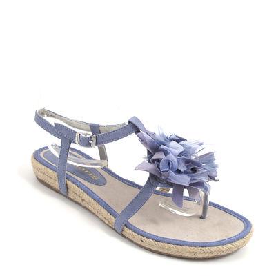 Tamaris / Sandale Blau/Navy - Espadrille-Sandalette