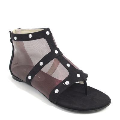 MISS SIXTY / Netz-Sandalette DORIANE - Sandale Schwarz
