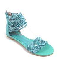 Killah / Sandalette Türkis - GABRIELLE - Sandale Gummibänder