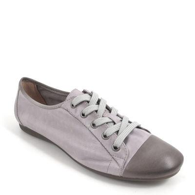 BELMONDO / Sneaker Grau - CHANTILLY Fumo - Retro-Schn?rschuh
