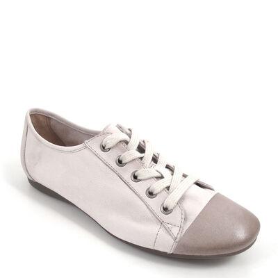 BELMONDO / Sneaker Weiss - CHANTILLY Bianco - Damen-Schn?rer