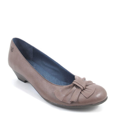 CAPRICE / Flache Pumps Graubraun - Alices Taupe