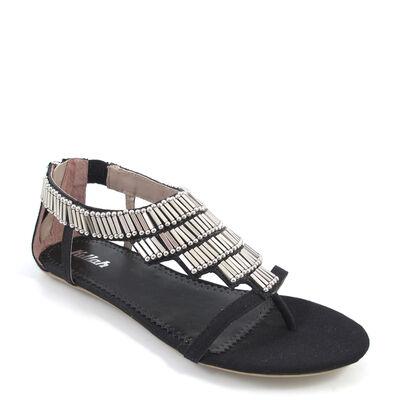 Killah / HELYETTE Sandale Schwarz Silber - Sandalette