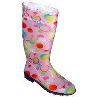shoes&style / Gummistiefel Rosa »Puci«