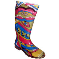 shoes&style / Farbige Gummistiefel »Jungle«
