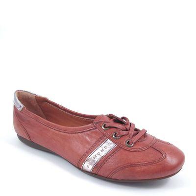 BELMONDO / Sneaker Ruggine - Ballerina Rot/Rost