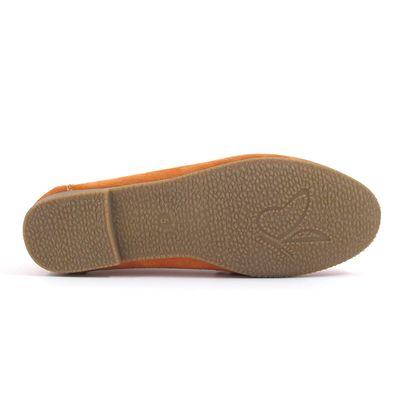 Caprice / Mokassin Orange - Wildleder Slipper Orange Suede