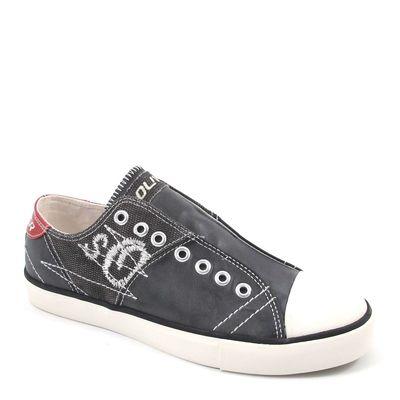 s.Oliver / Sneaker Black Antic - Schlupfsneaker Schwarz Antik