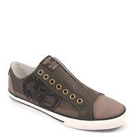 s.Oliver / Slipper Braun - Schlupf-Sneaker Nut Comb