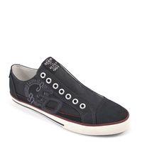s.Oliver / Slipper Schwarz - Schlupf-Sneaker Black