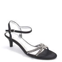 shoes&style / Strass-Sandalette Schwarz - Riemchensandalette