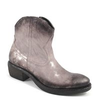 Tamaris / Metallic-Boots Titanium - Stiefelette mit Metallic-Schimmer