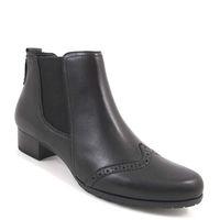 Caprice / Stiefelette Schwarz - Chelsea Boots Black Antic