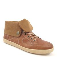 s.Oliver / Bootie Hellbraun mit Nieten-Stern - Sneaker Boots Muscat
