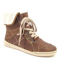 s.Oliver / Sneaker-Boots Muscat - Fell-Stiefelette Braun, sportlich