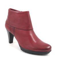 Tamaris / Ankle Boots Rot - Stiefelette Sangria mit Plateau